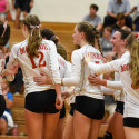 Varsity Volleyball vs. Ann Arbor Huron – 9/19/17