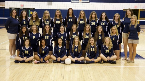 2016 Girls Varsity Volleyball Team