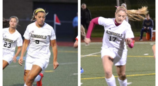 Girls Soccer Places Duo on All-Section Squad