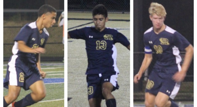 Boys Soccer Lands Three on All-Section Team