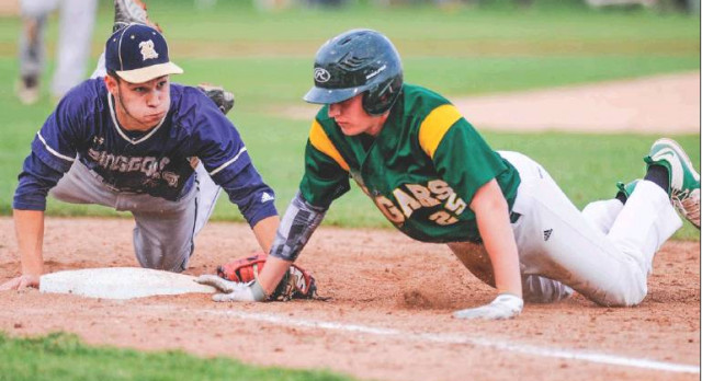 Baseball Lands Seven on All-Section Teams