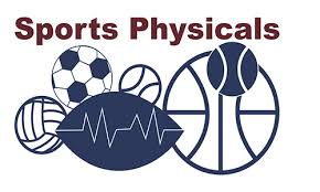 Sports Physical Dates/Times Announced