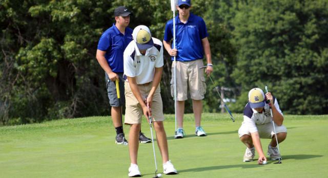 Boys Golf beats Connellsville 230-262 to open season