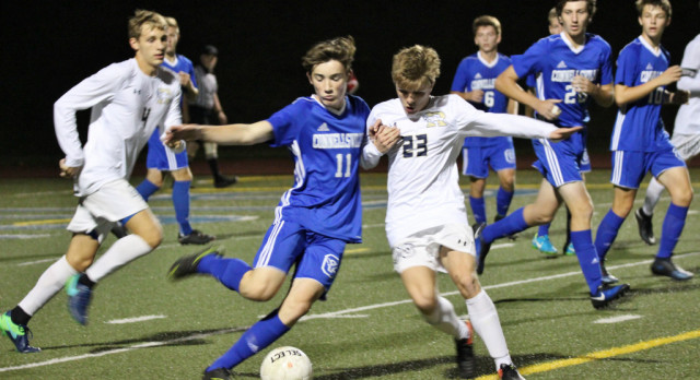 Schoedel's hat trick leads Boys Soccer over Connellsville