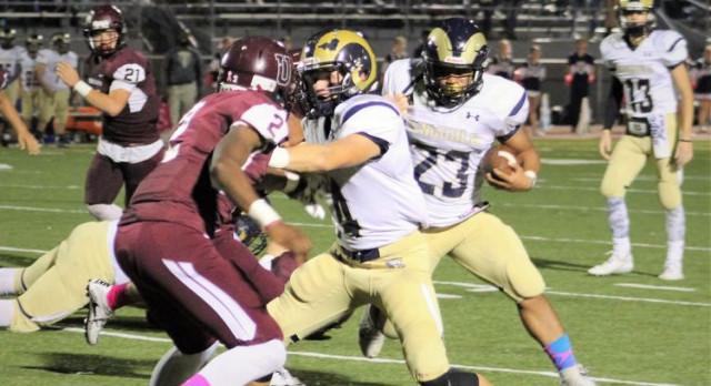 Football dominates Uniontown 55-19, moves to 3-3