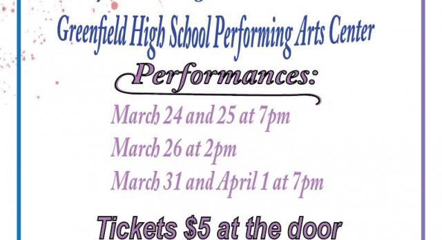 Greenfield High School Drama Club Presents . . .