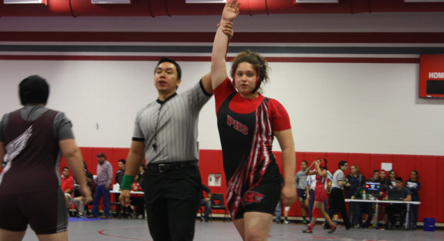 Palmview Senior Advances to State Wrestling Competition
