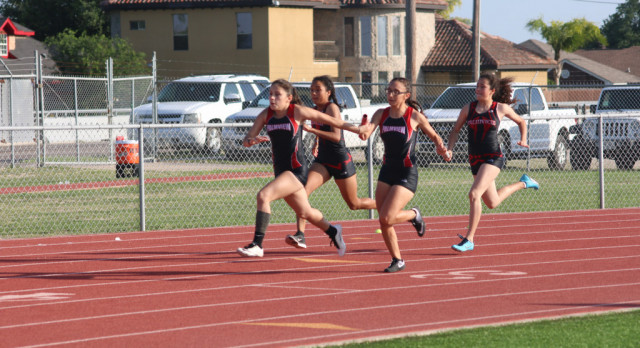 Girls JV Track Team Becomes District Champion