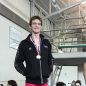 Max Gus - 100 fly gold medalist & 50 free silver medalist