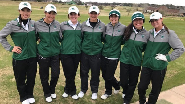 9th place waxahachie high school girls varsity golf spring finishes 9th