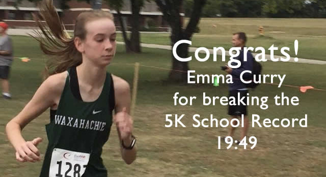 Emma Curry Breaks School Record