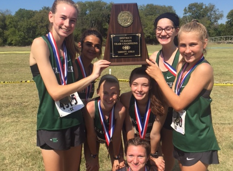 Lady NDN XC Places 1st @ District