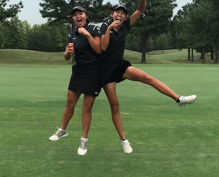 Girls Golf Wins 3rd Consecutive District Championship