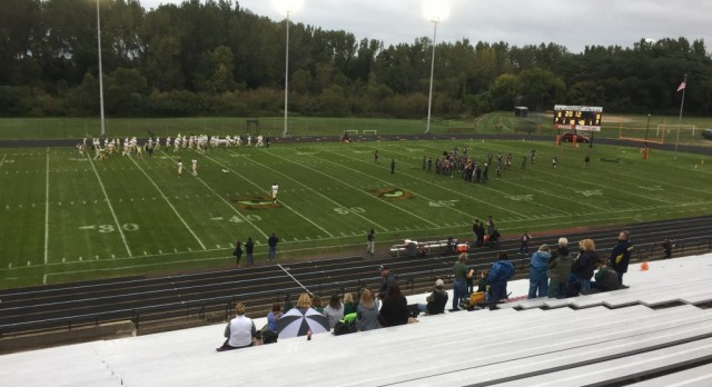 Traverse City West Varsity Football falls to Benton Harbor 21-16