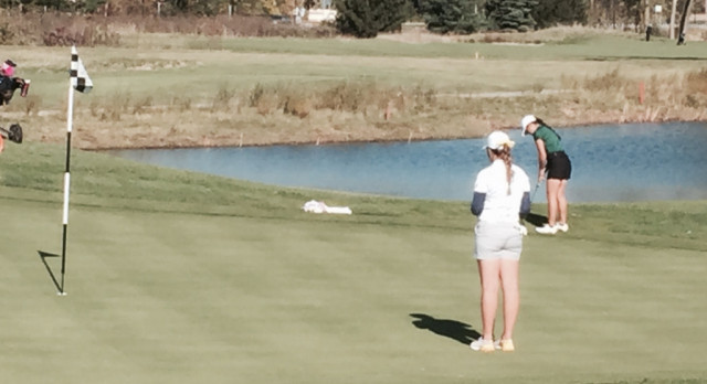 Titan Golf Takes Early State Finals Lead!