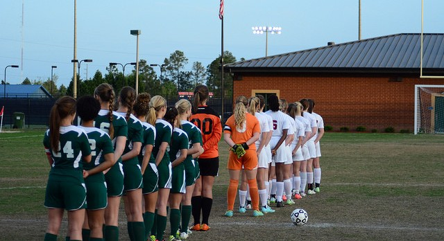River Bluff High School Girls Varsity Soccer beat Eastside High School 3-0