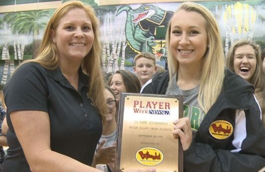 Claire Edwards – WLTX Player of the Week