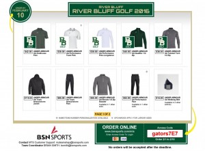 RIVER BLUFF GOLF 2016 | RIVER BLUFF | BSN Sports