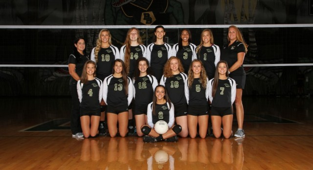 River Bluff High School Girls Varsity Volleyball falls to Fort Mill High Schoo 3-2
