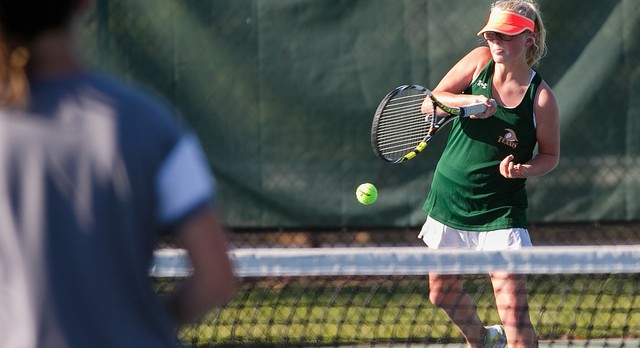 River Bluff High School Girls Varsity Tennis beat Summerville High School 5-1