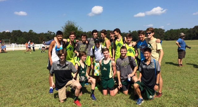 River Bluff High School Boys Varsity Cross Country finishes 10th place