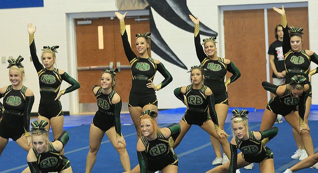 Competitive Cheer Looks Strong at Battle at the Bluff