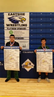 River Bluff High School Varsity Wrestling finishes 9th place