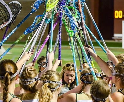 River Bluff High School Girls Varsity Lacrosse falls to Clover High 16-4