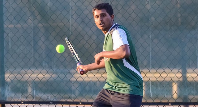 River Bluff High School Boys Varsity Tennis beat Spring Valley High School 6-0