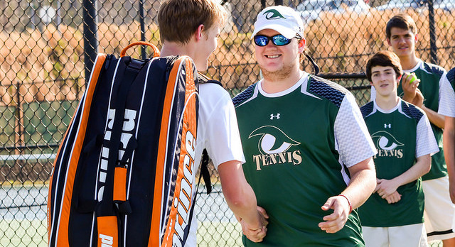 River Bluff High School Boys Varsity Tennis beat Dutch Fork High School 6-0
