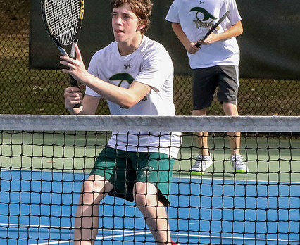 River Bluff High School Boys Varsity Tennis beat White Knoll High School 6-0
