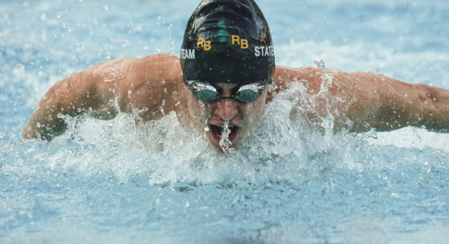 Gator Swim Team Takes Large Contingency to State Meet Today