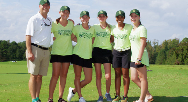 Girls Golf Heads Into AAAAA State Tourney Ranked 6th in State