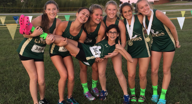 Gator Girls Varsity Cross Country Finishes 2nd in Region; JV Takes 3rd