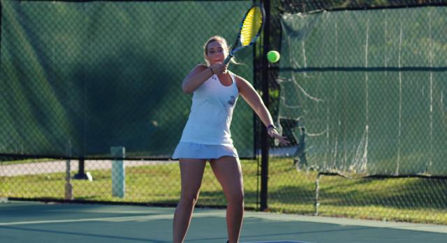 Top Seed Gators Girls Varsity Tennis Sweeps West Ashley 6-0