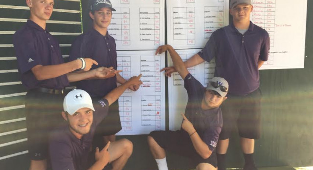 Walhalla Competes In Upper State Golf Tournament