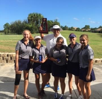 Girls Golf Wins District Title