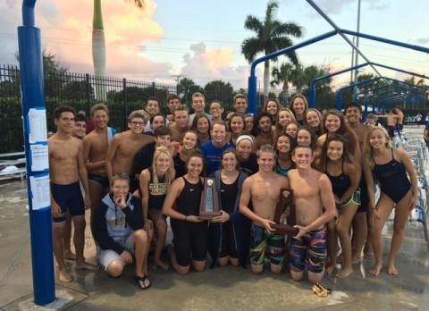 Girls Swimming/Diving-2016 Regional Champions