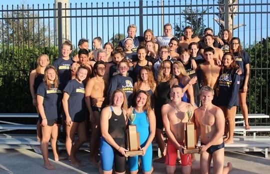 Swimming & Diving Teams Take County Championships