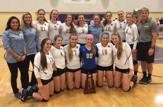 """A Perfect """"10""""-Volleyball Wins Title"""