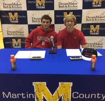 Boys Lacrosse Celebrates Scholarship Signings