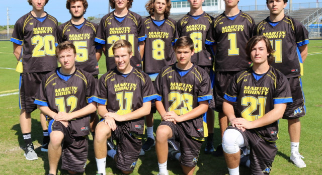 Martin County High School Boys Varsity Lacrosse beat Jensen Beach High School 10-7