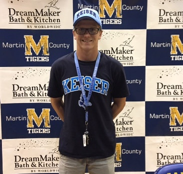 Cameron Anderson Signs With Keiser University