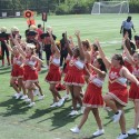JV Cheerleaders at Football vs Blake HS 17Sept2016