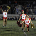 Pom Squad Performance at Homecoming