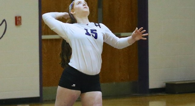 Lady Purples hold serve against Logan County