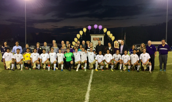 Purples rout Warren East 10-0 on Senior Night