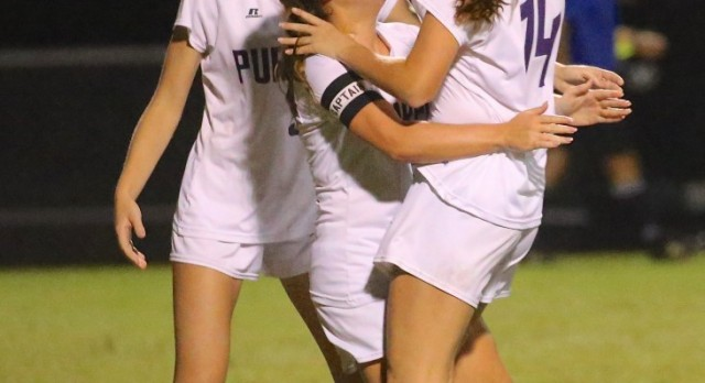 Girls Soccer defeats state champs