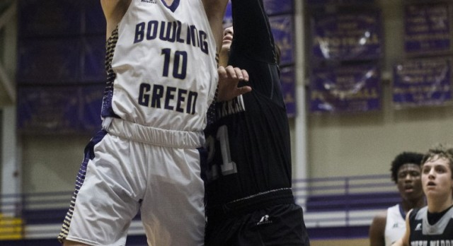 Purples defeat South Warren 80-37