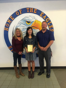 Baelyn Koester Athlete of the month-November